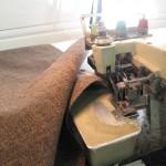 Overlock av tekstilerne