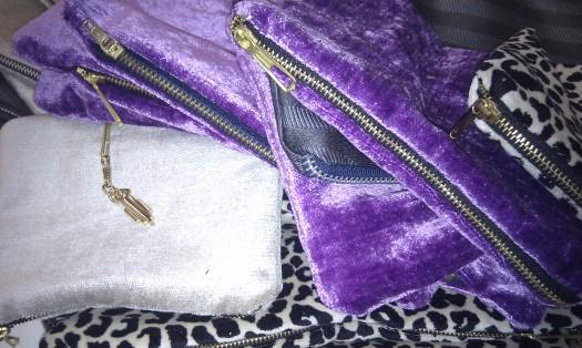 Shiny Lilla og Glam leopard