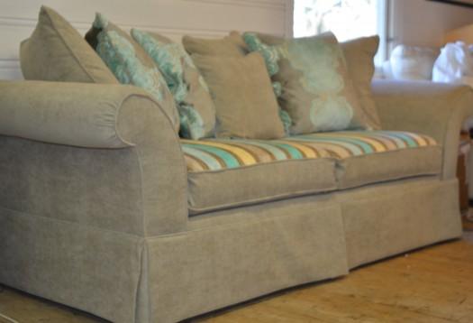 Sofaen er ferdig!!!