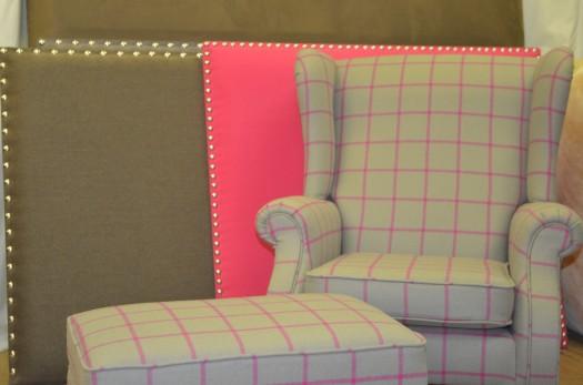 Jeg elsker den heftige rosa fargen i kontrast mot duse farger