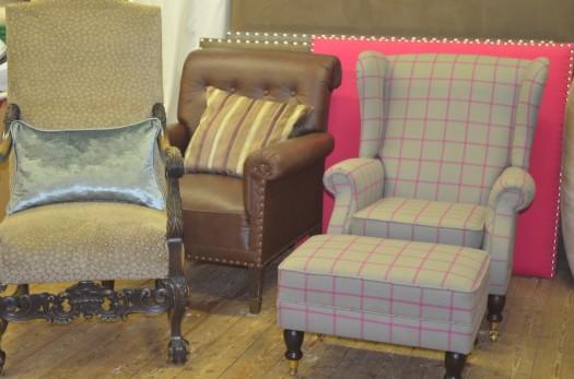 3 staselige stoler