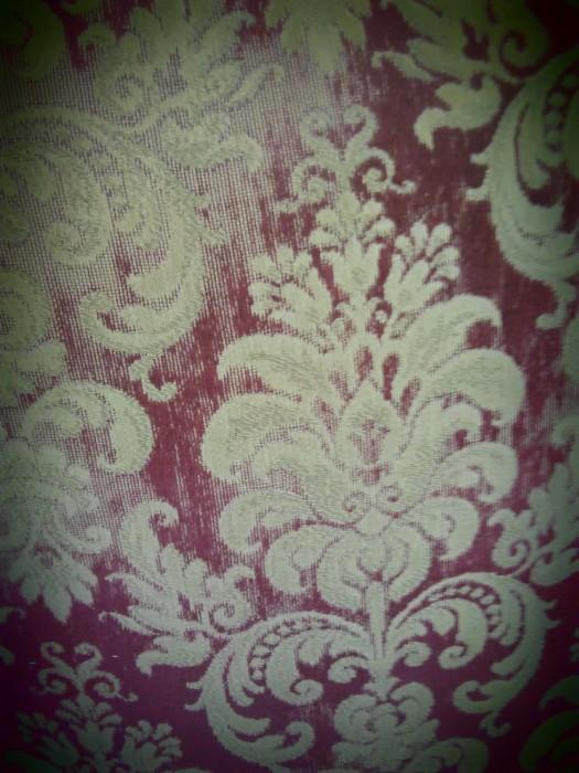 Nydelig mønstrete tekstil