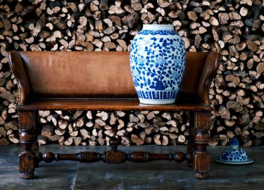 Sofa/benk i Skinn