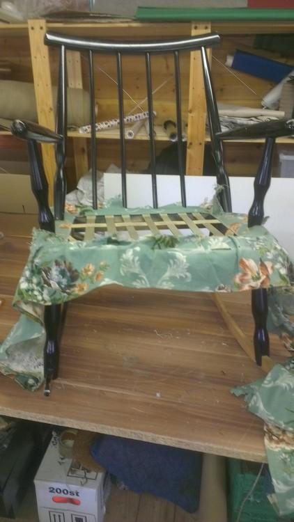 Sliten stol..!