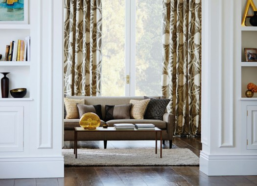 Vakkert rom og inspirerende tekstilbruk