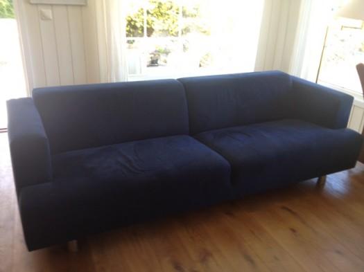 Erik jørgensen sofa før den ble trukket om