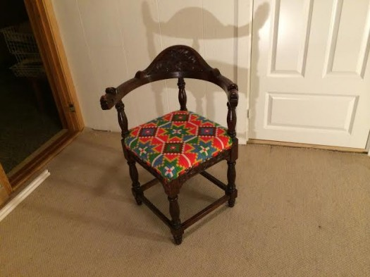 Dragestol før den ble trukket om