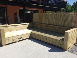 Bygge balkongmøbler