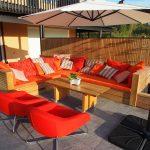 Plassbygd utendørs sofa