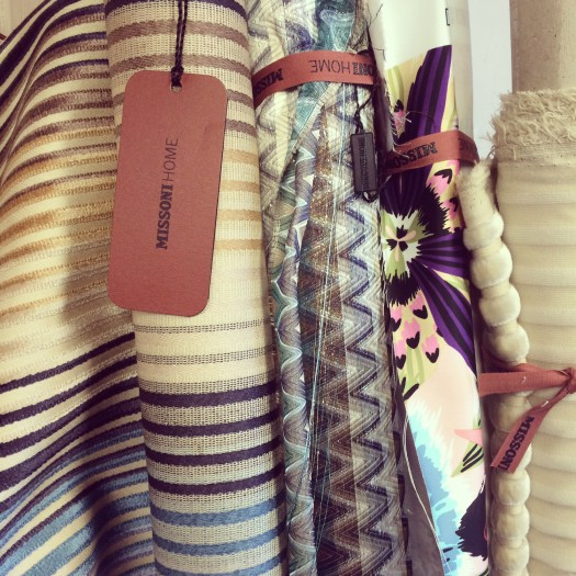 Forrige Missoni Home fabrics levering